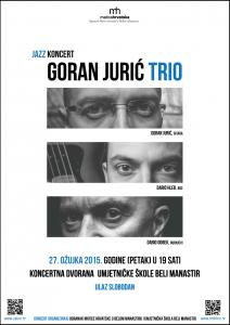 Goran Juric Trio